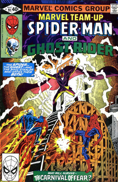Cover for Marvel Team-Up (Marvel, 1972 series) #91 [Direct Edition]
