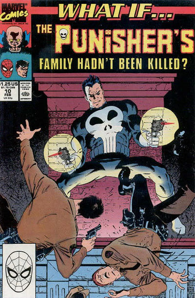 Cover for What If...? (Marvel, 1989 series) #10 [Newsstand]