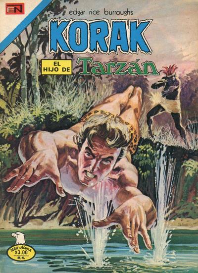 Cover for Korak (Editorial Novaro, 1972 series) #50