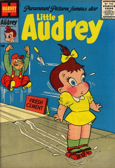 Cover for Little Audrey (Harvey, 1952 series) #47