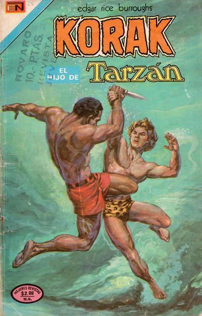 Cover for Korak (Editorial Novaro, 1972 series) #25