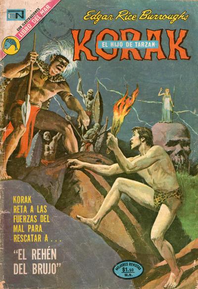 Cover for Korak (Editorial Novaro, 1972 series) #11