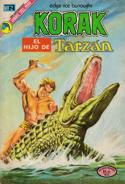 Cover for Korak (Editorial Novaro, 1972 series) #12