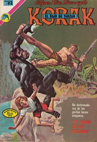 Cover for Korak (Editorial Novaro, 1972 series) #7