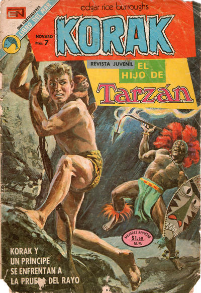 Cover for Korak (Editorial Novaro, 1972 series) #15