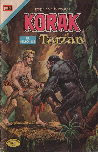 Cover for Korak (Editorial Novaro, 1972 series) #23