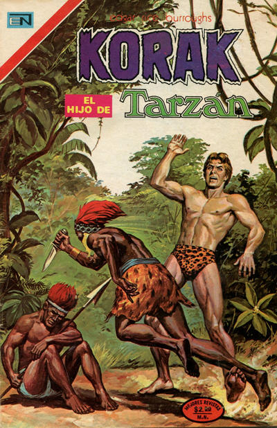 Cover for Korak (Editorial Novaro, 1972 series) #31