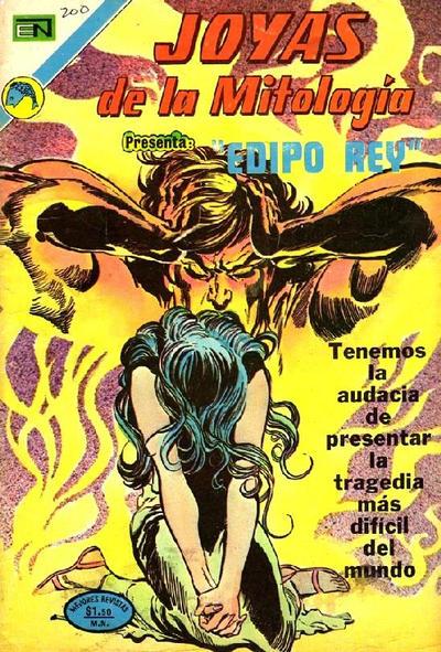 Cover for Joyas de la Mitología (Editorial Novaro, 1962 series) #200