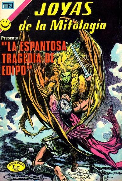 Cover for Joyas de la Mitología (Editorial Novaro, 1962 series) #199