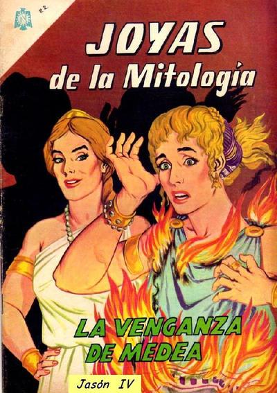 Cover for Joyas de la Mitología (Editorial Novaro, 1962 series) #22