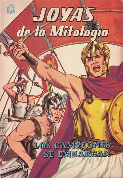 Cover for Joyas de la Mitología (Editorial Novaro, 1962 series) #20