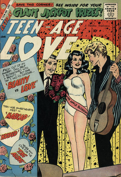 Cover for Teen-Age Love (Charlton, 1958 series) #9