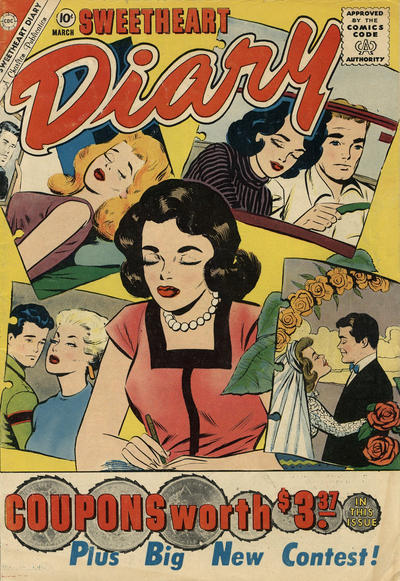 Cover for Sweetheart Diary (Charlton, 1955 series) #57 [British]