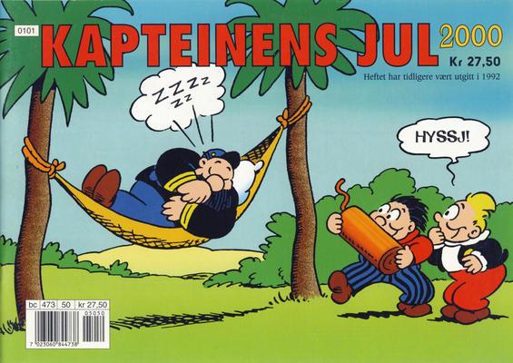 Cover for Kapteinens jul (Bladkompaniet, 1988 series) #2000