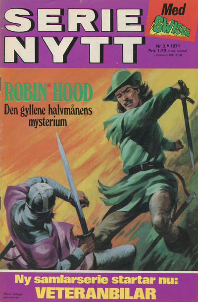 Cover for Serie-nytt [delas?] (Semic, 1970 series) #3/1971
