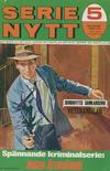 Cover for Serie-nytt [delas?] (Semic, 1970 series) #5/1971