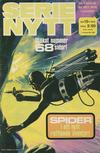 Cover for Serie-nytt [delas?] (Semic, 1970 series) #13/1972