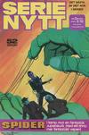 Cover for Serie-nytt [delas?] (Semic, 1970 series) #2/1974