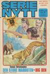 Cover for Serie-nytt [delas?] (Semic, 1970 series) #17/1974