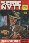 Cover for Serie-nytt [delas?] (Semic, 1970 series) #19/1975
