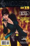 Cover for Modesty (Hjemmet / Egmont, 2004 series) #2