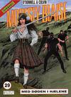 Cover for Modesty Blaise (Hjemmet / Egmont, 1998 series) #29 - Med døden i hælene