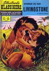Cover for Illustrerte Klassikere [Classics Illustrated] (Illustrerte Klassikere / Williams Forlag, 1957 series) #74 - Hvordan jeg fant Livingstone [1. opplag]