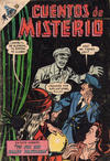 Cover for Cuentos de Misterio (Editorial Novaro, 1960 series) #135