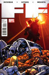 Cover for FF (Marvel, 2011 series) #5 [Captain America movie promotion]