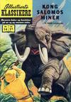 Cover for Illustrerte Klassikere [Classics Illustrated] (Illustrerte Klassikere / Williams Forlag, 1957 series) #14 - Kong Salomos miner [3. opplag]