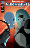 Cover for DreamWorks' Megamind: Bad. Blue. Brilliant (Ape Entertainment, 2010 series) #2