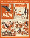 Cover for Hauk (Serieforlaget / Se-Bladene / Stabenfeldt, 1955 series) #1/1957