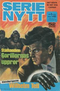 Cover Thumbnail for Serie-nytt [delas?] (Semic, 1970 series) #3/1972