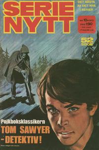 Cover Thumbnail for Serie-nytt [delas?] (Semic, 1970 series) #10/1972