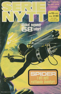 Cover Thumbnail for Serie-nytt [delas?] (Semic, 1970 series) #13/1972