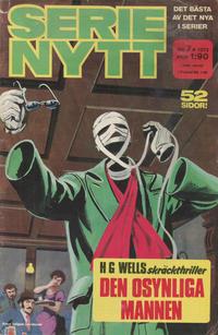 Cover Thumbnail for Serie-nytt [delas?] (Semic, 1970 series) #7/1973