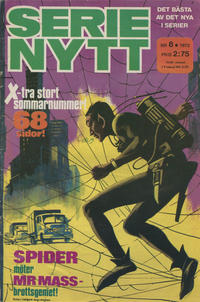 Cover Thumbnail for Serie-nytt [delas?] (Semic, 1970 series) #8/1973