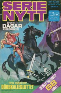 Cover Thumbnail for Serie-nytt [delas?] (Semic, 1970 series) #12/1973