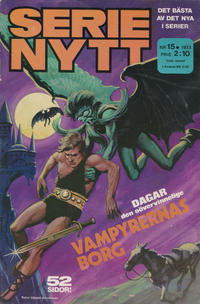Cover Thumbnail for Serie-nytt [delas?] (Semic, 1970 series) #15/1973