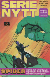 Cover Thumbnail for Serie-nytt [delas?] (Semic, 1970 series) #2/1974