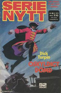 Cover Thumbnail for Serie-nytt [delas?] (Semic, 1970 series) #4/1974