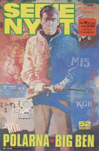 Cover Thumbnail for Serie-nytt [delas?] (Semic, 1970 series) #18/1974