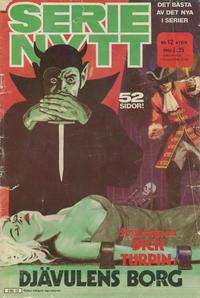 Cover Thumbnail for Serie-nytt [delas?] (Semic, 1970 series) #12/1974