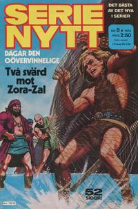 Cover Thumbnail for Serie-nytt [delas?] (Semic, 1970 series) #8/1975