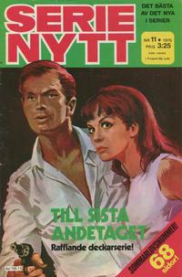 Cover Thumbnail for Serie-nytt [delas?] (Semic, 1970 series) #11/1975