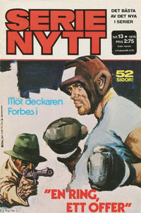 Cover Thumbnail for Serie-nytt [delas?] (Semic, 1970 series) #13/1975