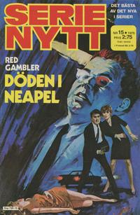 Cover Thumbnail for Serie-nytt [delas?] (Semic, 1970 series) #15/1975