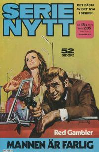 Cover Thumbnail for Serie-nytt [delas?] (Semic, 1970 series) #18/1975