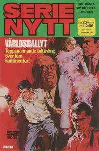 Cover Thumbnail for Serie-nytt [delas?] (Semic, 1970 series) #20/1975