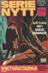 Cover Thumbnail for Serie-nytt [delas?] (Semic, 1970 series) #23/1975